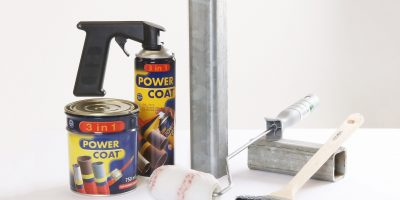 Power Coat 3 in 1 500ml Spray og 750ml Maling fra Multilakk